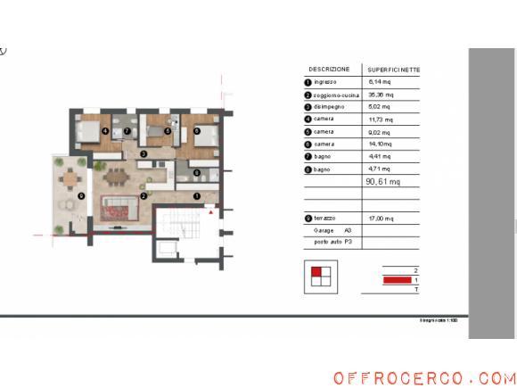 Appartamento Ferri 115mq